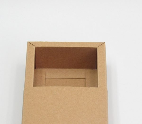 brown drawer box
