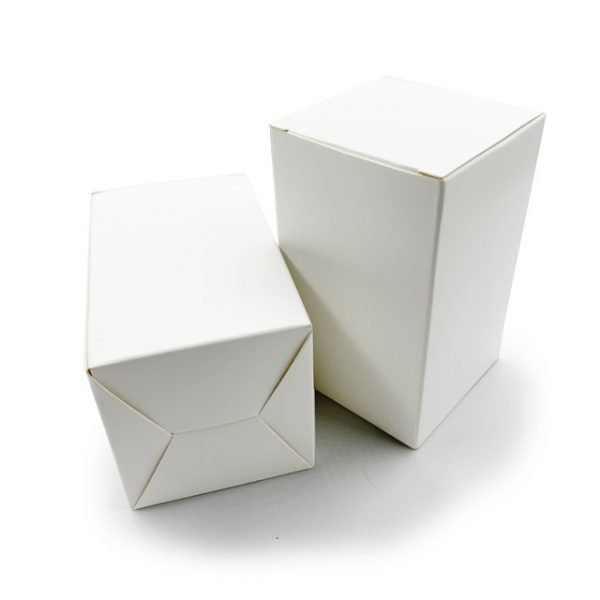 White Cardboard Paper Boxes