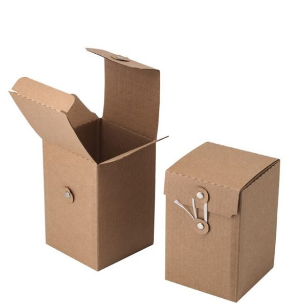Brown String Tie Box
