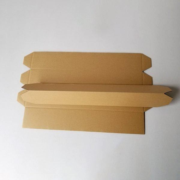 Triangular corrugated box