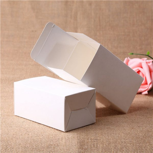 white paper box