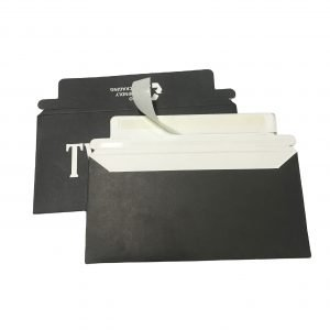 Black Cardboard Envelope