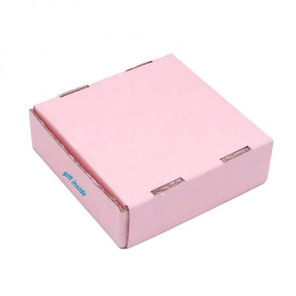 Pink Tuck Top Corrugated Boxes