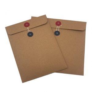 Brown String Tie Envelope