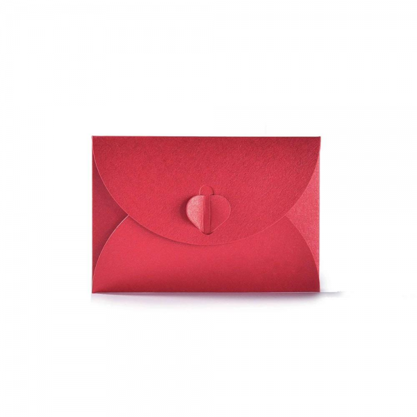 Envelope with Heart Clasp