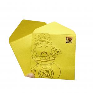 Gold Stamping Money Envelope