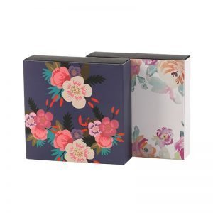 Flower Graphics Drawer Box