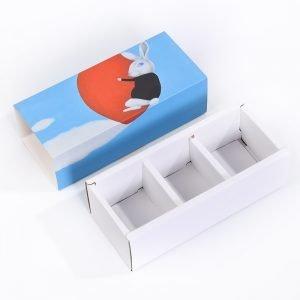 White Card Drawer Box