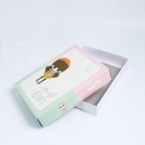 Square White Paper Box