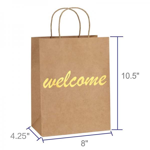 Foil Stamp Paper Bag